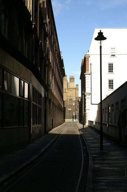 I love exploring London, down the back alleys no one wants to be in. This is where I feel most alive.