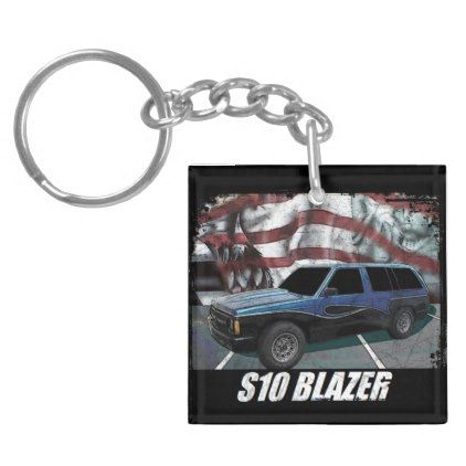 1991 S10 Blazer Keychain - #customizable create your own personalize diy