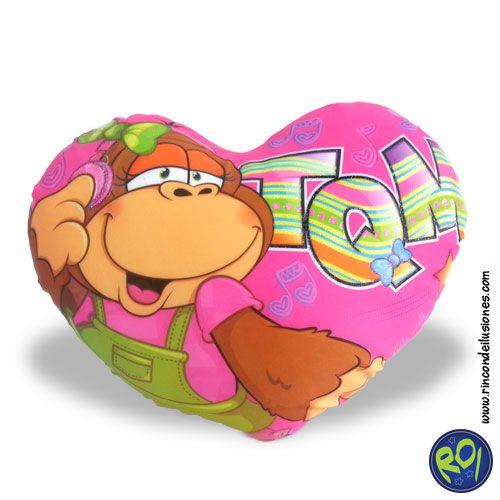 Cojin Corazón Simone de Pelanas... encuéntralos en nuestros puntos de venta. #cojin #corazon #simone #peluches #regalos  Número Único: 444 73 42  Si lo quieres dale me gusta!!