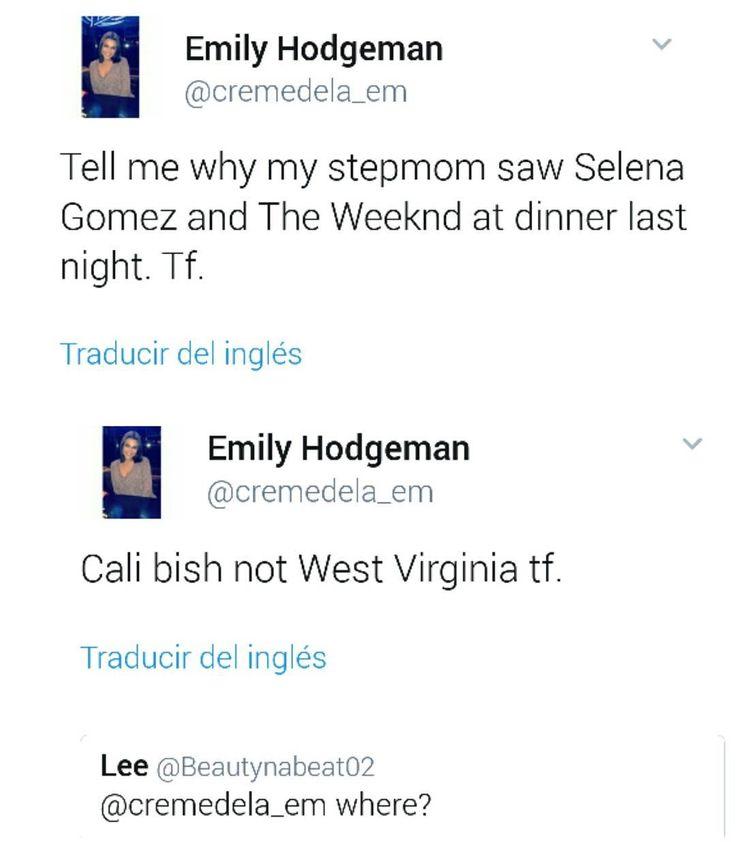 Tell me why my stepmom saw Selena Gomez and The Weeknd at dinner last night in California vía @cremedela.em  Dime por qué mi madrastra vio a Selena Gomez y The Weeknd cenando anoche en California vía @cremedela.em  #SelenaGomez #Selena #Selenator #Fans | #BestFanArmy #Selenators #iHeartAwards