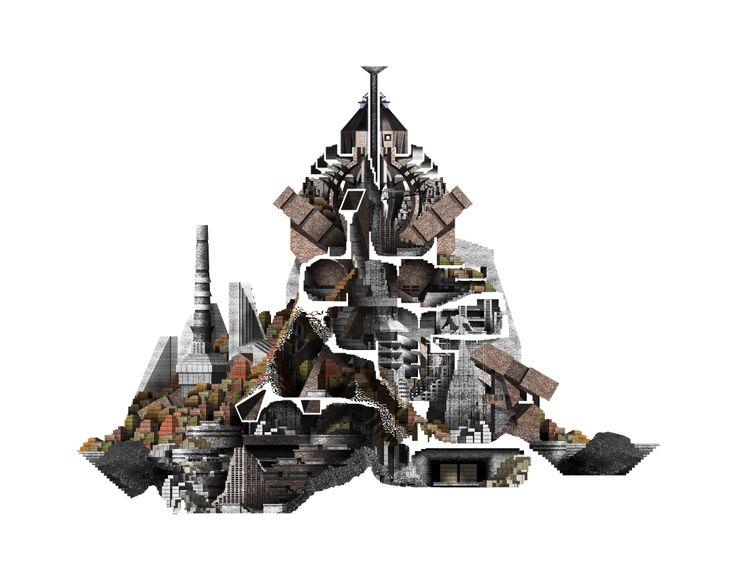 The London Brickworks project - kiln section