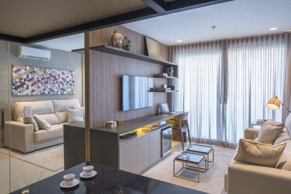 espelho amplia apartamento pequeno ideias decoracao blog
