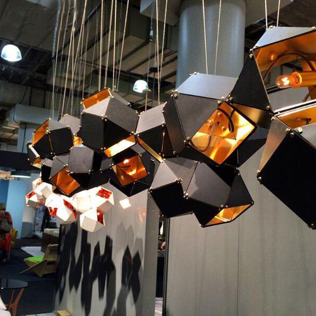 Новый алюминий + нержавеющая сталь подвесной Светильник Классический Декоративный Loft Огни и Современный Подвесной Светильник E14 Бесплатная Доставка EMS