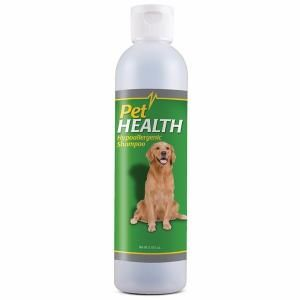 PetHealth Hypoallergenic Shampoo with oatmeal, aloe, lavender and honey is a hypoallergenic shampoo that gently cleanses the skin and hair, and leaves your dog with a soft, fresh and clean coat.