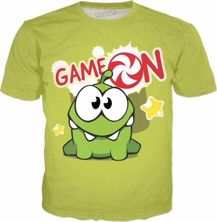 Om Nom Game On T-Shirt