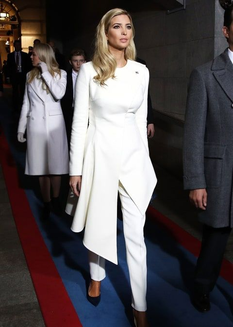 Ivanka Trump - Restoring the ability to wear pantsuits to non-Hillary supporters everywhere. So elegant.