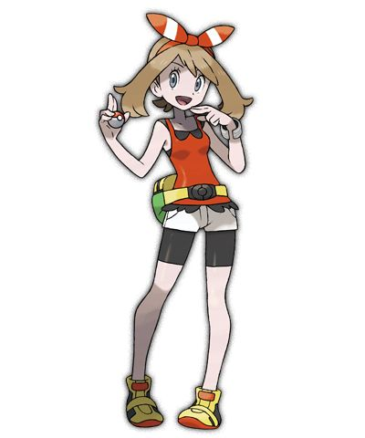 Female protagonist from Pokemon Omega Ruby and Alpha Sapphire.