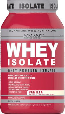 Myology™  Proteína de suero aislada, sabor vainilla http://es.puritan.com/proteina-de-suero-aislada-sabor-vainilla-031194.html#start=2?scid=29139