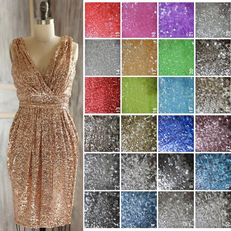Real Photos Rose Gold Bridesmaids Dresses Sequins Short Bridesmaid Gowns Gold Silver Prom Dress Backless Sparkle 6903