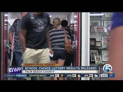 Palm Beach Co. Schools' Choice Lottery results available Friday - (More info on: https://1-W-W.COM/lottery/palm-beach-co-schools-choice-lottery-results-available-friday/)