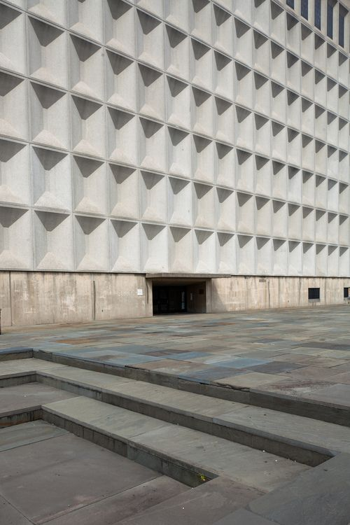 Meister Hall, Bronx Community College, New York Marcel Breuer, 1964 Photographed by Doctor Casino