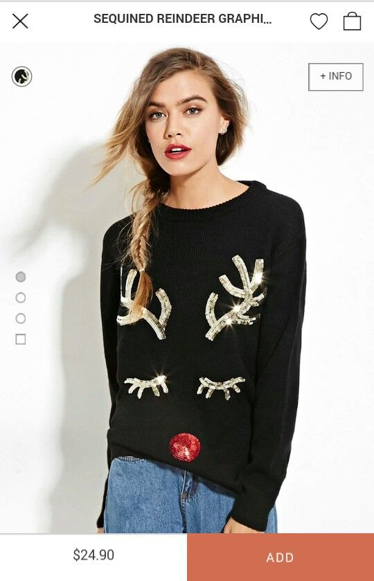 16 best ugly Christmas sweaters. images on Pinterest   Forever21 ...