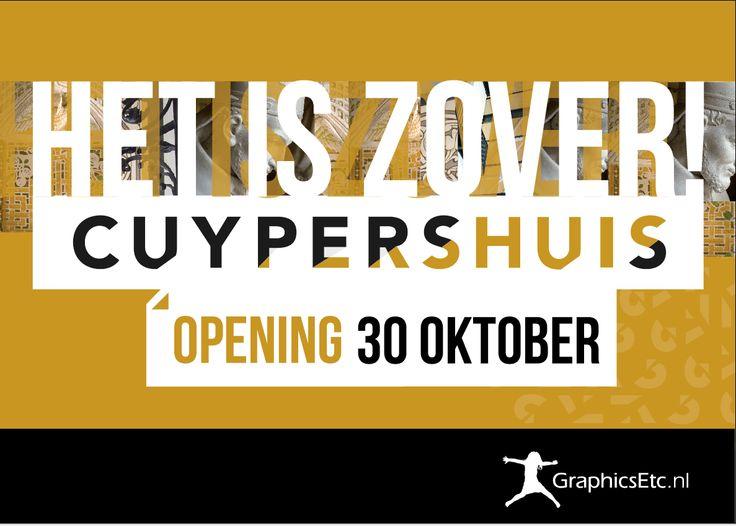 CUYPERSHUIS: logo en huisstijl!
