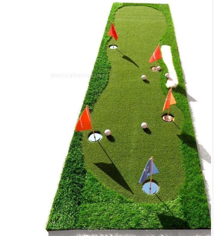 (350.00$)  Watch now  - Golf putt practice mats indoor/outdoor practice blanket coaching practice putting  green scale pad new High quality Korean grass