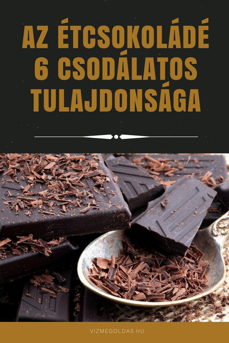 Tiszta étkezés - Az étcsokoládé 6 csodálatos tulajdonsága