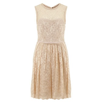 Taylor Cream Lace Dress From TK Maxx GBP3999