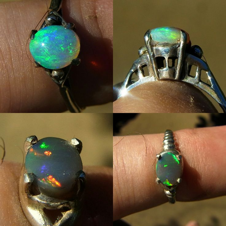 Another couple of solid opal rings just finished ( in Sterling Silver). First a Lightning Ring Crystal - Ring size N ( U.S.6 1/2 - 7) and the second darker stone a beauty from Allans Rise, nr Coober Pedy- Ring size K 1/2 ( U.S. 5 1/2) Prices AU$ 235 and and AU$296 respectively.  Go to www.gemniopals.com.au and click on 'Online Store' or direct to Etsy/gemniopals *Note will shortly be setting some of my opals in 9 carat gold for so keep an eye open!