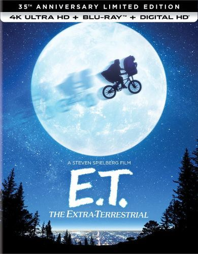 E.T. the Extra-Terrestrial [35th Anniversary Limited Edition] [4K Ultra HD Blu-ray] [1982]