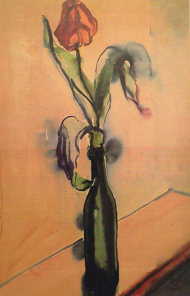 Elfriede Lohse Wächtler (1899 -1940) In 1929 kreeg ze een zenuwinzinking en verbleef twee maanden in een psychiatrische inrichting. Na die periode   kwam ze in een nieuwe creatieve fase, waarin ze vooral arbeidersmilieus en prostituees schilderde. Hoewel ze regelmatig bleef exposeren leefde ze in grote armoede.