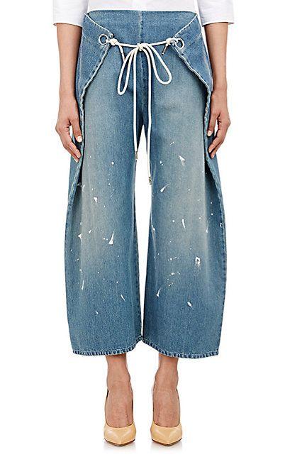 MM6 Maison Margiela Foldover Jeans - Jeans - 504036742                                                                                                                                                                                 More