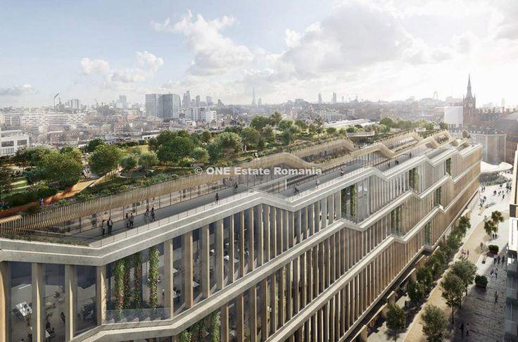 Gigantul tehnologic Google , a avansat un plan pentru constructia unui megaproiect imobiliar in Londra