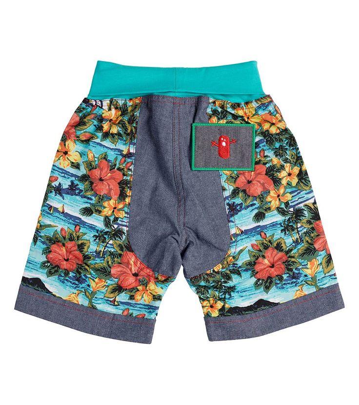 Tropicana Hotel Short - Big, Oishi-m Clothing for Kids, Holiday 2017, www.oishi-m.com