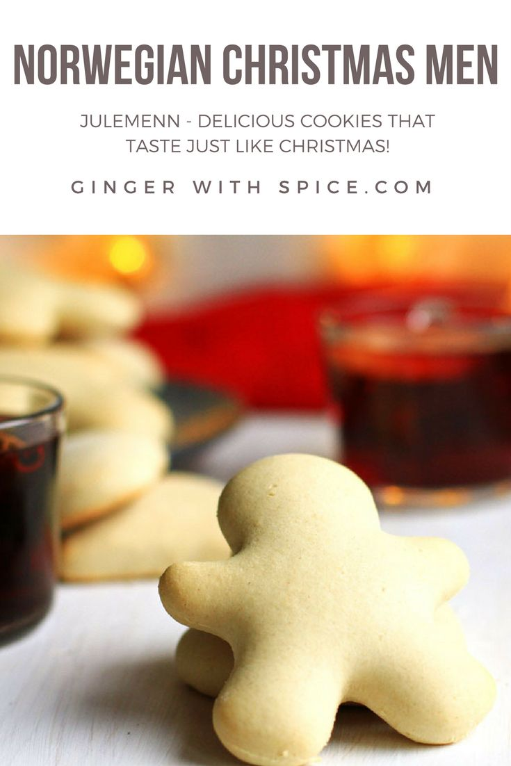 The crisp exterior and soft interior is such a satisfying texture, and the taste of Hartshorn is amazing in these cute Christmas Men! Click to find the recipe.