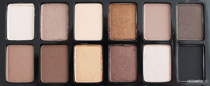MAYBELLINE // Expert Wear Eye Shadow Palette - The Nudes | Review + Swatches - CassandraMyee