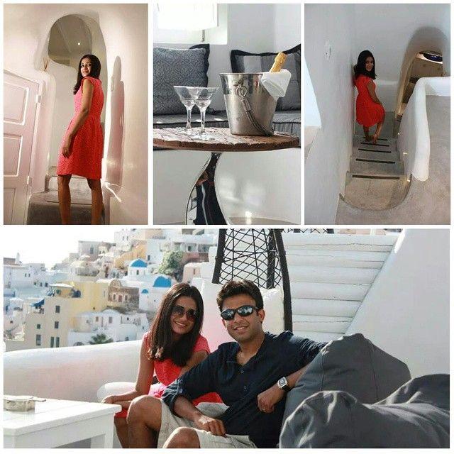 Moments of #luxury and #serenity... #ArtMaisons #Santorini Photo credits: @_rvipatel_