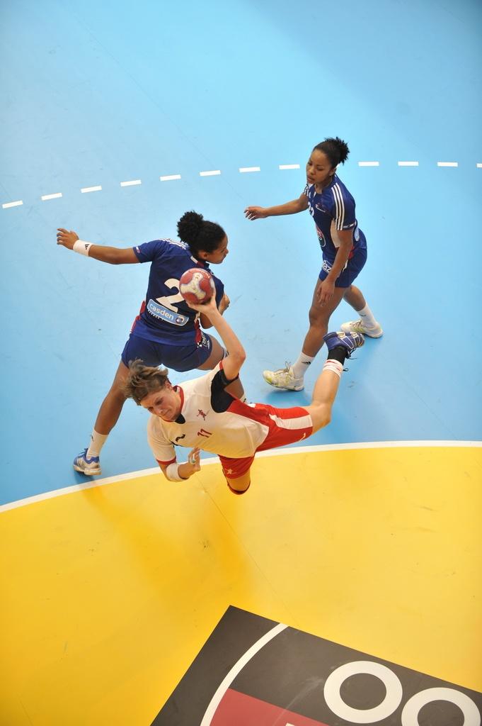 Match de handball : France Angleterre