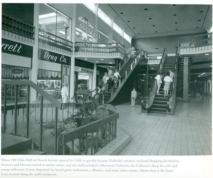 100 Oaks Mall -- I worked here at Shop of Jon Simmons=>Kirkland's during college