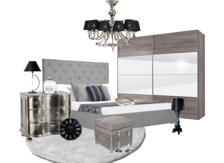 Modernes Schlafzimmer mit skandinavischem Touch - schöne ...