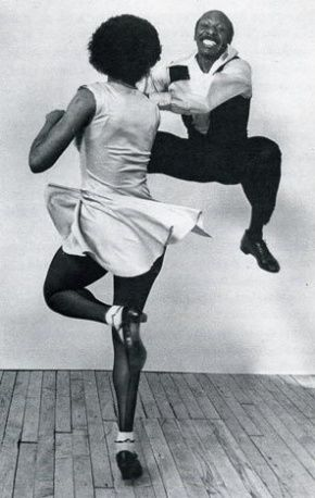 """'Lindy hop' dancers. """"The Lindy Hop evolved in Harlem, New York City in the 1920s and 1930s...Lindy was a fusion of many dances that preceded it or were popular during its development but is mainly based on jazz, tap, breakaway and Charleston"""". www.RhythmDanceShoes.com"""