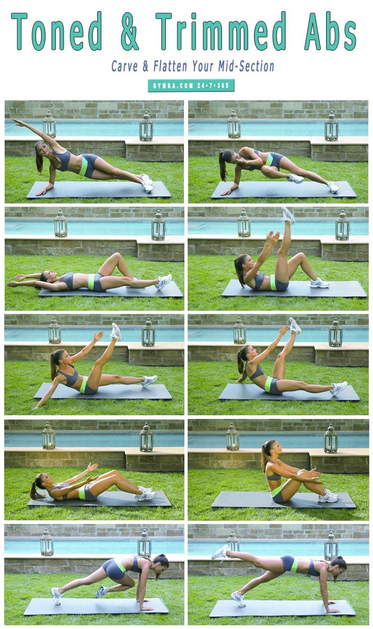 Abs on fire! Carve up your abs & flatten your tummy!