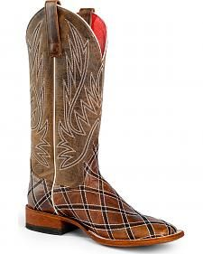 Anderson Bean Boots Macie Bean Sabotage Cowgirl Boots - Square Toe