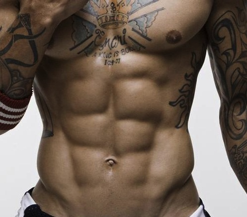 Serious abs.