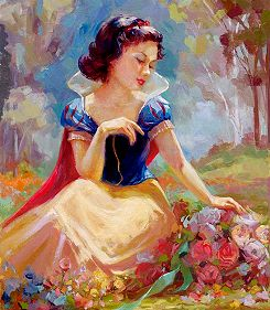 """Gathering Flowers"" by Lisa Keene (Girl's Room)"