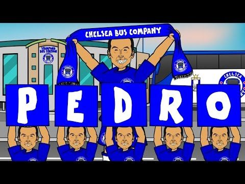 THE PEDRO STORY! Pedro is my Name-O song (Chelsea Man Utd transfer from Barcelona) - YouTube