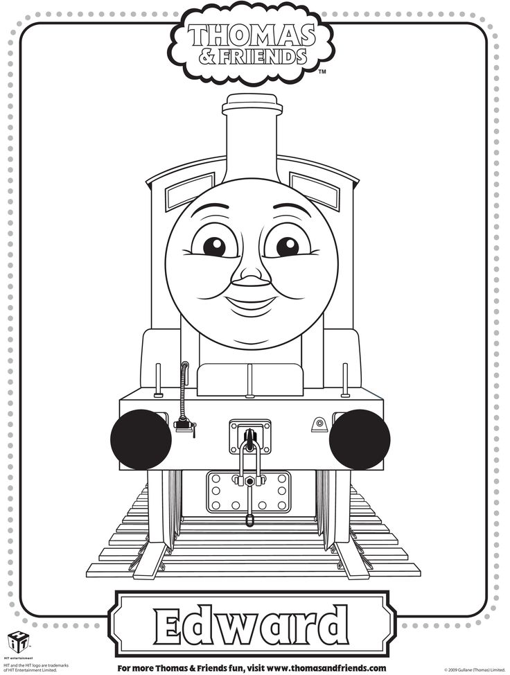 James Coloring Page Thomas And Friends T Enami Org