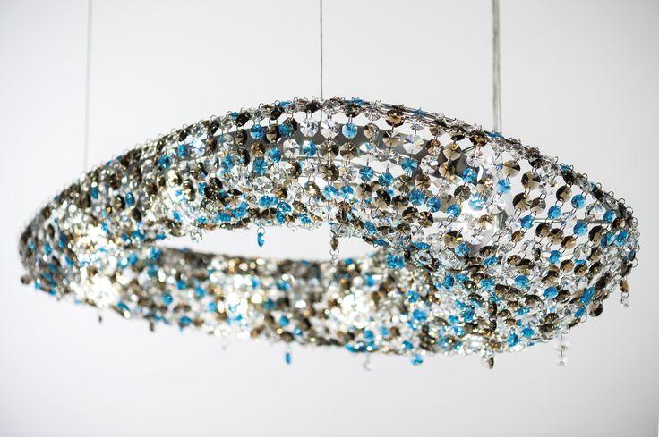 Polaris Crystal Chandelier Manooi www.manooi.com #Manooi #Chandelier #CrystalChandelier #Design #Lighting #Polaris #luxury #furniture