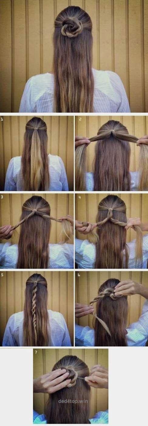 Casual Hair Style for Summer Time_fashion and beauty