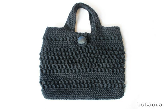 Fare una borsa in lana a crochet | islaura | Bloglovin'