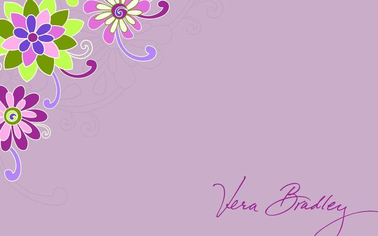 Vera Bradley Purple Punch Desktop Wallpaper Pink