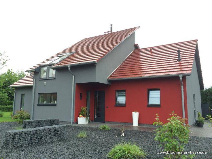 Fassade mit Holzfaserdämmplatten auf Holzständerbauweise: Wir haben sie armiert, geputzt und gestrichen