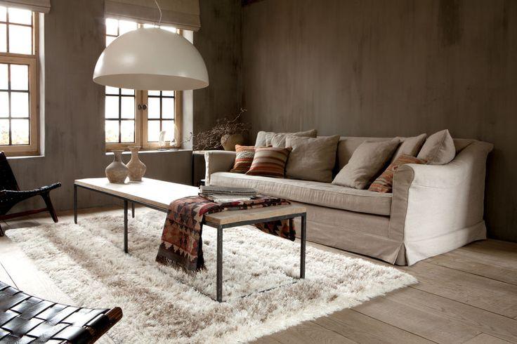 Modern interior with berber carpet available from CarpetVista.com