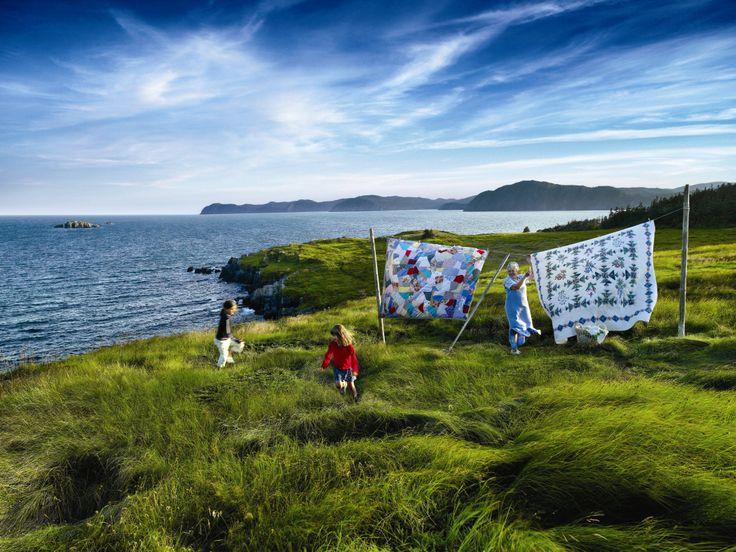 Newfoundland clothesline