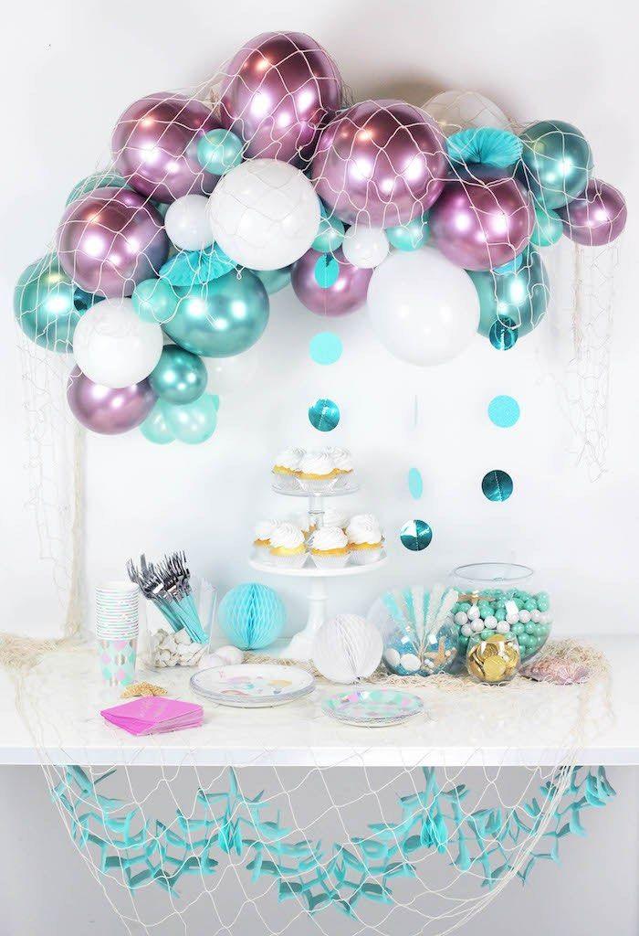Meerjungfrau Party – 18 Komplette Dekoideen und Deko-Sets