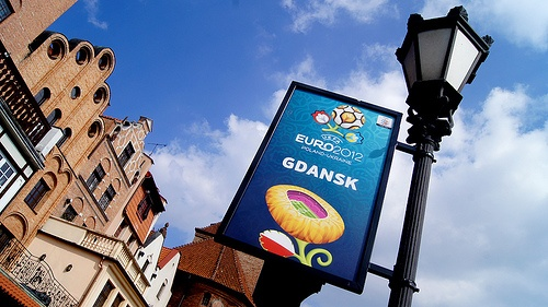 EURO 2012 in the City of Gdansk, capital of Polish Solidarity and some ancient homes