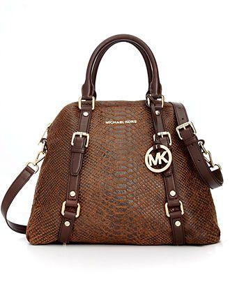 MICHAEL Michael Kors Handbag, Bedford Large Bowling Satchel - MICHAEL  Michael Kors - Handbags \u0026
