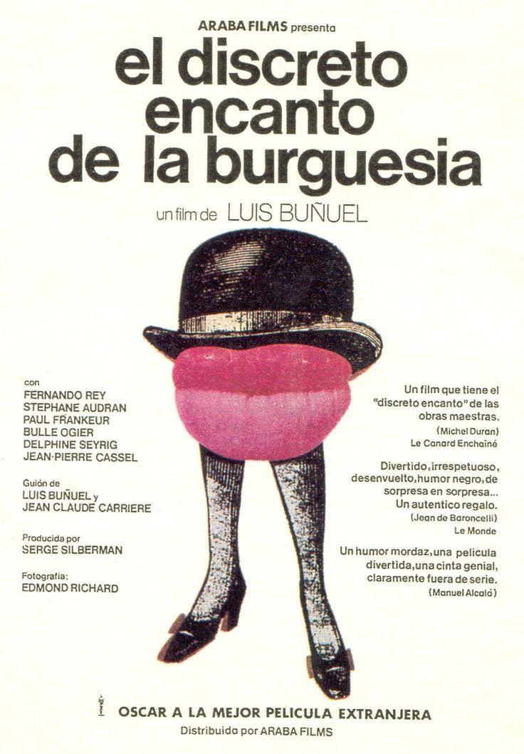 """El discreto encanto de la burguesia"", ""Le charme discret de la bourgeoisie"" (1972). País: Francia. Director: Luis Buñuel."